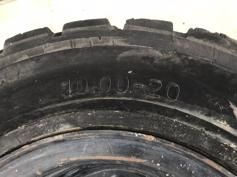 1000 x 20 ECOMATIC SOLID TYRES-902631