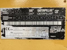 Caterpillar – 345D LME – #179120