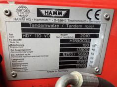 Hamm – HD110 VO – #179698