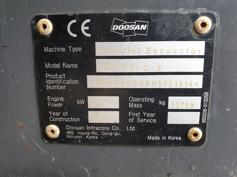 Doosan – DX225 LC-5 – #179816