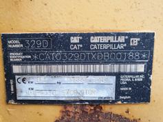 Caterpillar – 329D L – #180114