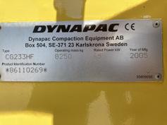 Dynapac – CG233 HF – #180146