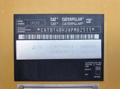 Caterpillar – 140H – #180285