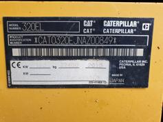 Caterpillar – 320E L – #180345