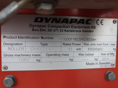 Dynapac – CA302D – #180736