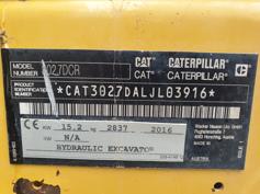 Caterpillar – 302.7DCR – #180770