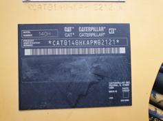 Caterpillar – 140H – #180310