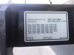Caterpillar-313D / M315D / 320D / 325D / 330D / 345C / 365C / 385C CABIN PROTECTION / GUARD-901604