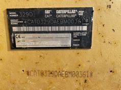 Caterpillar-329D LN-2011-183252