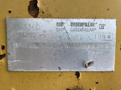 Caterpillar-336D LN-2010-181617