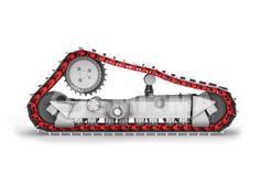 Caterpillar-D6N TRACK LINK ASSY 41 LINKS-501875
