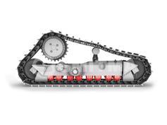 Caterpillar-D8T TRACK ROLLER DF-501743