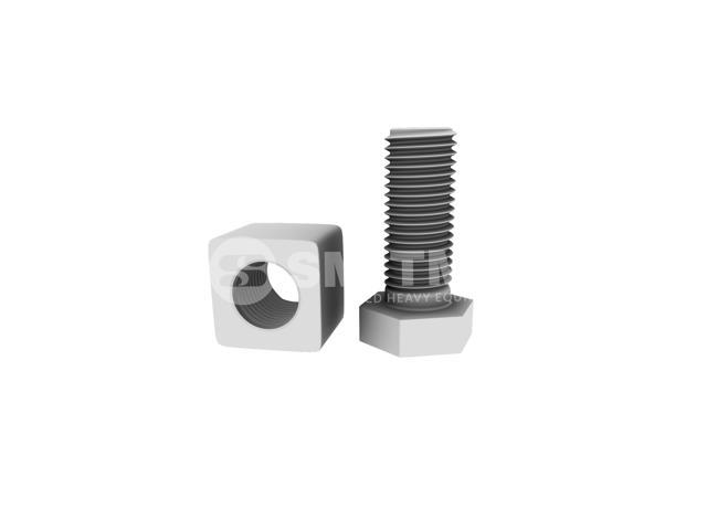 Hitachi-ZX470 TRACK NUT + BOLTS-501652