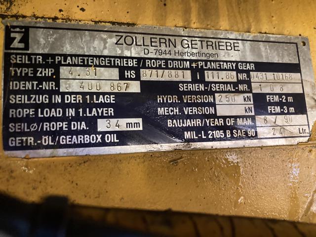Liebherr — HS871HD